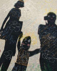 Shadow Art Craft #ArtsAndCrafts #KidsCrafts #Crafts #DIY #Summer #Shadows #EarthDay