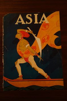 May 1926 Asia Magazine COVER ONLY Frank McIntosh ~ Bark of False Caliph in Collectibles, Photographic Images, Vintage & Antique (Pre-1940), CDVs | eBay