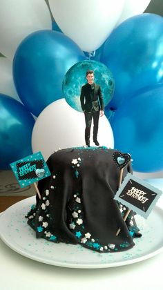 Shawn Mendes Cake //birthday_present_idea_sweet16_girl_suprising// @Inspiration Serena.com