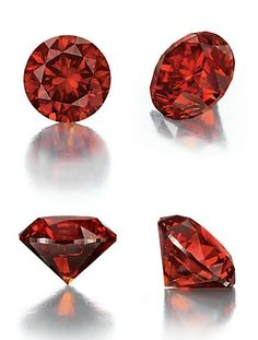 The circular-cut fancy reddish orange diamond, weighing approximately 3.15 carats With report 2145320178 dated 8 February 2012 from the Gemological Institute of America stating that the diamond is fancy reddish orange, natural color, SI2 clarity, with excellent polish and excellent symmetry