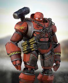 Robot Demolisher on Behance