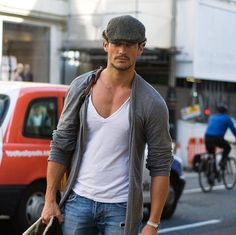 how to wear deep vneck tshirts for guys - Google Search
