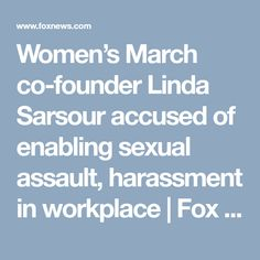 Women's March co-founder Linda Sarsour accused of enabling sexual assault, harassment in workplace | Fox News