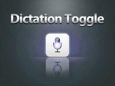 Dictation Toggle for SBSettings – Siriを有効にしたままキーボードの音声入力をON/OFF
