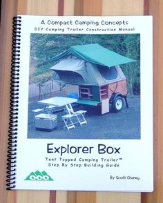 Time is running out for having an Explorer Box Construction Manual waiting under the tree for that special DIYer in your life. Get one now at https://compact-camping-concepts-2.myshopify.com/collections/diy-manuals