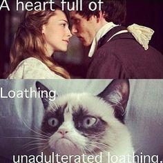 """A heart full of...Loathing unadulterated loathing!!!!"" hahahaha!"