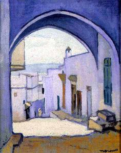 Marquet - citadelle à Tanger