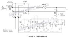 21 Best Battery charger circuit images in 2019 | Electronics ... Dayton Battery Charger Wiring Diagram on