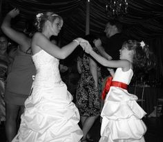 Bride and flower-girl must have picture