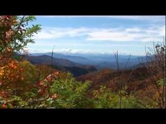 Great Smoky Mountains & Blue Ridge Parkway in Fall. Cool and crisp.