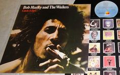 Bob Marley and the Wailers~Catch a Fire~Chris Blackwell/Carlton Barrett~LP Vinyl Record Album