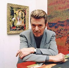 Circa 1990... Then-worthy of greatest hits albums many times over, Bowie kicked off his international Sound+Vision... - Dave Benett/Getty Images