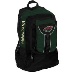 NHL Minnesota Wild Colossus Backpack, Green by Concept 1. $34.95. The Colossus is a big bag for any  big sports fan. The large size and multiple compartment construction makes it easy for anyone to keep their belongings just where they want them.  Multiple logos make it easy to show off your team pride!