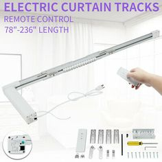 (Sponsored Link) Advanced Smart Home Automatic Motorized Curtain Track Electric Curtain Ceiling Curtain Track, Ceiling Curtains, Blinds For Windows, Curtains With Blinds, Electric Sliding Gates, Led Parking Lot Lights, Sliding Gate Opener, Wave Curtains, Motorized Blinds