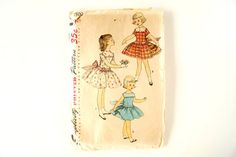 Vintage 1950s Simplicity Pattern 1500Child's by ThirdShift on Etsy, $18.00