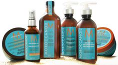 i looooove my moroccan oil!! i even put some of the oil in my lotion!~ it smells amazing!