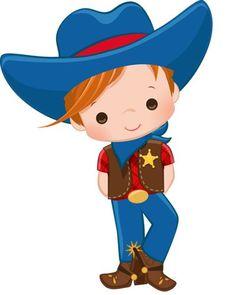 Cowgirl Party, Cowboy And Cowgirl, Cowboy Draw, Wild West Theme, Shower Bebe, Cowboy Birthday, Baby Clip Art, Western Theme, Precious Children