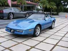 '89 Corvette CP, Medium Blue w/ black leather interior, automatic, dual power seats, radiator cooling boost fan, engine oil cooler, heavy duty radiator, electronic climate control a/c, Delco-Bose am-fm stereo w/ cassette, removable roof panel, 17' aluminum wheels, power options. L98 350 cubic inch / 245 hp fuel injected, ABS. This vehicle qualifies for our exclusive V.I.P. financing with term available up to 84 months, w.a.c. Call for details, Toy Store, Largo, Fl.  toll free 888-655-9577.