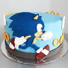 Sonic Birthday Parties, Sonic Party, Birthday Party Themes, Birthday Cake, Bolo Sonic, Sonic Cake, Super Mario Nintendo, Make Up Cake, Theme Cakes