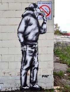 "RU ] project ""CARTOON is needed by everyone"" - Straßenkunst, Street Art, Graffiti, Mural . Banksy Graffiti, Street Art Banksy, Arte Banksy, Graffiti Kunst, Graffiti Tagging, Bansky, Cartoon Graffiti, Graffiti Artists, Urban Street Art"