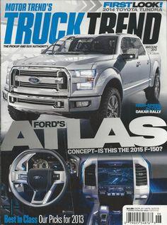 Motor Trend Truck Trend magazine Ford Atlas Toyota Tundra Dakar Utah Burr Trail