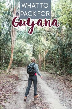 What to Pack for Guyana - Everything I Wish I Had Brought - Heart My Backpack Packing List For Travel, Packing Tips, Travel Tips, Travel Info, Budget Travel, Ecuador, Montevideo, Machu Picchu, Bolivia