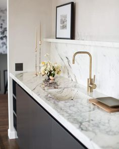 """266 Likes, 8 Comments - Meagan Callahan (@_meagancallahan) on Instagram: """"Marble is the design solution for everything. Don't ask questions, just trust me. // design…"""""""