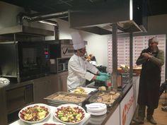 Show Cooking dello chef Emanuele Vizzi a Genova | Unione Cuochi Valle d'Aosta