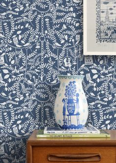 Following the phenomenal success of our first collaboration, we've once again teamed up with artist Rob Ryan to produce the second wallpaper design featuring his remarkable paper cut imagery....