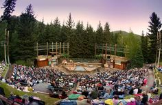 What better backdrop for a performance than the night sky? Here are 10 great venues where you can enjoy outdoor theater this summer.