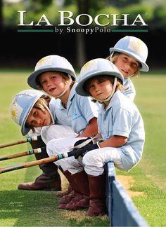4 German little brothers ready to rumble and play ! #elmetejon #poloclubelmetejon