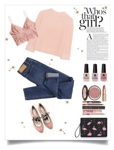 """Без названия #77"" by valentino-lover ❤ liked on Polyvore featuring Reine, Charlotte Tilbury, Boden, Cheap Monday, iHeart, H&M and Victoria's Secret"
