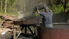 Making Hardwood CHarcoal #CharcoalMaskPeel Making Charcoal, Charcoal Mask Peel, Hardwood Charcoal, Cold Treatment, Activated Charcoal, Get Outdoors, How To Make Diy, Survival Skills, Survival Gear