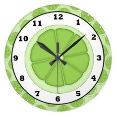 Kitchen Lime Slice clock so please read the important details before your purchasing anyway here is the best buyThis Deals Kitchen Lime Slice clock please follow the link to see fully reviews...