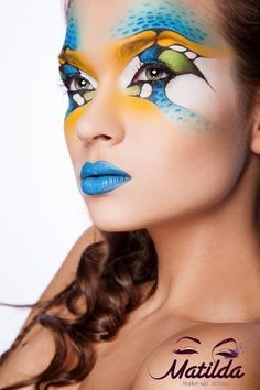 Face Art on Pinterest | Fantasy Makeup, Face Paintings and ...