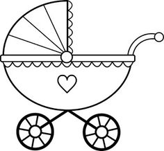 baby clipart girl cute pink baby carriage free clip art family rh pinterest com baby carriage clipart transparent back baby carriage clipart gold and pink