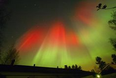 The aurora borealis is seen over the town of Hyvinkaa in southern Finland. http://news.yahoo.com/photos/spectacular-northern-lights-1319549381-slideshow/