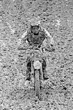 Motocross camo, it's easer to win if they never see you pass.