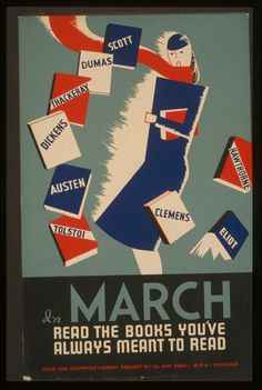 In March …: Vintage poster from the Work Projects Administration collection