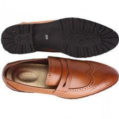 8050417d9a2c8 Trendy Oxford Men Brogues - Brown