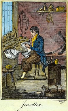 COLONIAL JEWELLER, 18th Century