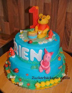 Winnie Puuh Torte für Arien