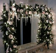 Bathroom Christmas Decoration Ideas(37)