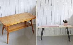 Før og etter. FOTO: Møbelpøbel / Christine Renée Kjellby