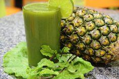 Suco Detox de Abacaxi com Hortelã e Água de Coco | Dicas de Saúde