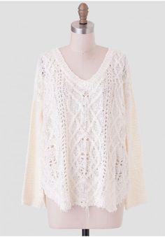 Tough Love Oversized Sweater   Modern Vintage Tops   Modern Vintage Clothing   Ruche