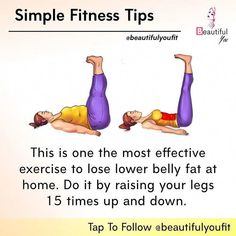 Health And Fitness, Fitness Tips, Yoga Fitness, At Home Workout Plan, At Home Workouts, Workout Plan For Women, Sculpter Son Corps, Yoga Facts, Easy Workouts