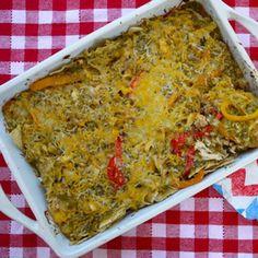 Potluck Chicken Fajita Casserole