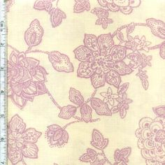 Jacobean Jewels By Red Rooster Fabrics Color: Bone $6.98/y