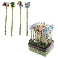 Click and shop now for Novelty Kids Rainforest Design Pencil and Eraser by weeabootique
